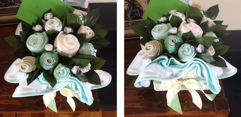 Lyndal's baby bouquet